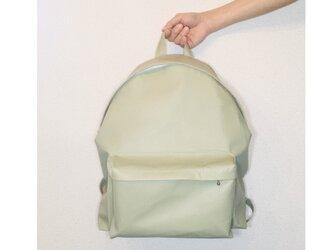 豚革 ローレルグリーン バッグパック リュックの画像