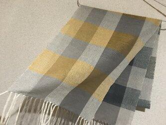 手織りストール A45の画像