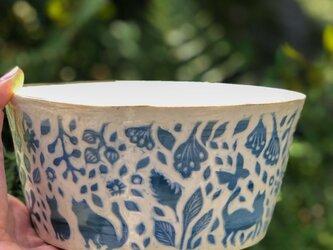Kakiotoshi large bowl —  猫のはなしの画像
