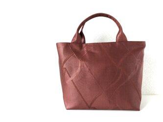 帯バッグ〜チョコレート〜の画像