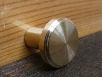 Φ20㎜ 真鍮無垢 アンティーク  Countryツマミ /  引き出しや扉の取っ手 カントリー家具などに。の画像