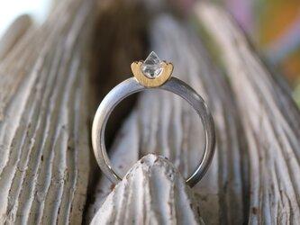 ラフダイヤモンド(原石)指輪の画像