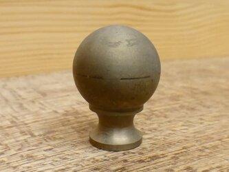 Φ22㎜ 真鍮無垢 アンティーク Vintage Royalツマミ /  引き出しや扉の取っ手、シャビー カントリー家具の画像