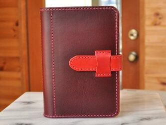 ピタッと開くシステム手帳 ポケットミニ6穴サイズ No.6 ブッテーロの画像