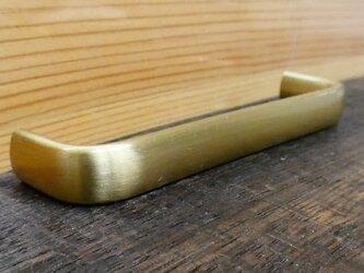 P-80㎜ 真鍮無垢 アンティーク Ellipse取っ手SG / 引き出しや扉等に。ハンドル シャビー家具 DIY 通販の画像