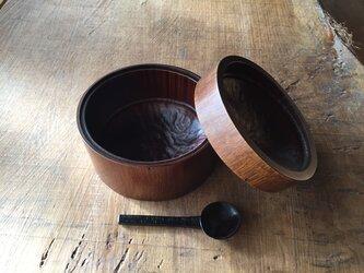 竹と漆の弁当箱 生漆の画像