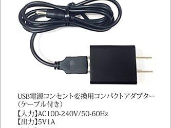 USB接続 + コンセント変換ACアダプターセットの画像