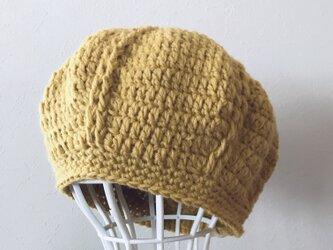 Sold out!  ウールまぁるいニット帽の画像