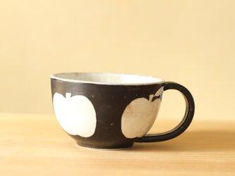 ※J様専用画面 粉引き黒いりんごのカップ。の画像