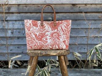Hand bag  [リスとひまわり]の画像