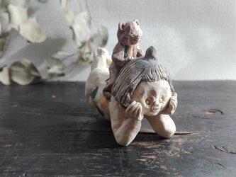 熊と金太郎 ごろりの画像
