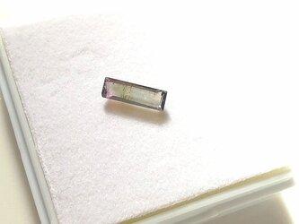 バイカラートルマリン 6.2×4.2mm ルースの画像