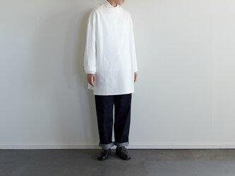 big basque long shirt/whiteの画像