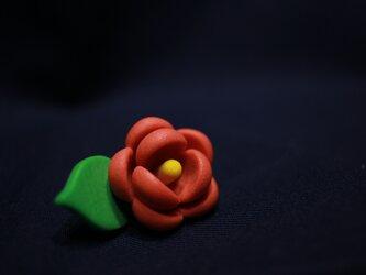椿 置物 ツバキ TSUBAKI 耐冬花 美の象徴の画像
