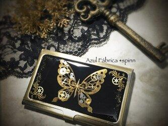 雑貨:機械蝶カードケースの画像