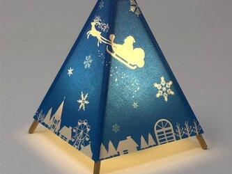 wAndon (手漉き和紙行灯キット クリスマス)の画像