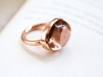K10 オレンジパープルのアメトリン ringの画像