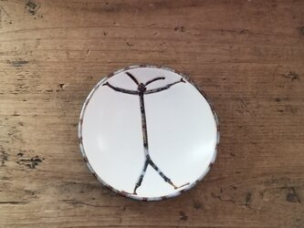 小皿no.43 ウサギ(ハロー)の画像