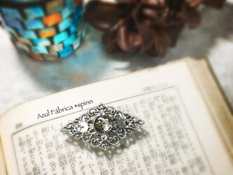 帯留め (silver)の画像