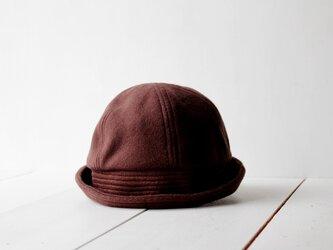 SAILOR HAT | CASHMEREWOOL c/#CHOCOLATE【56~59cm】の画像