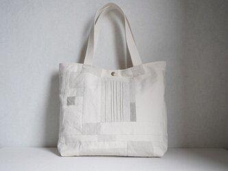 小さな布たちの大きなバッグ 作品№8の画像