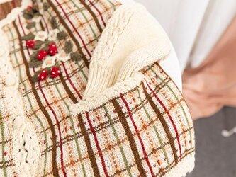 【5 着限定】苺の季節 ウール・カーディガン・ セーター ニットCM001 2色の画像