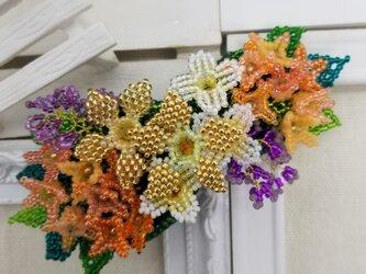 バレッタ Bouquet  (キンモクセイ)の画像