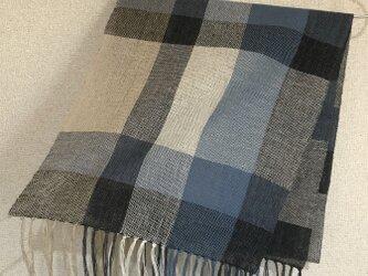 手織りストール W13の画像