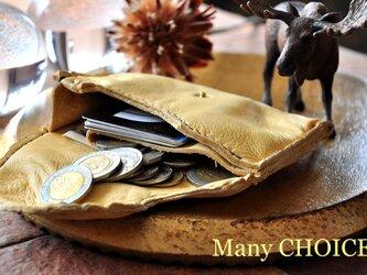 やみつきエルクのミニマム財布(レモンドロップ)の画像