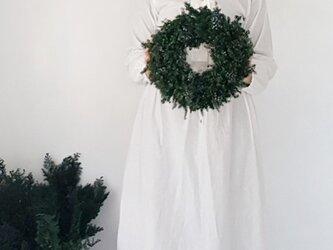 クリスマスリース受注販売品 ☆グリーンリース大の画像