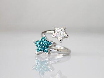 【受注制作】再販×⑦  wish upon a star ringの画像