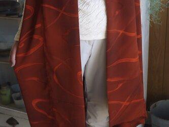 リメイク着物コートからロングジレの画像