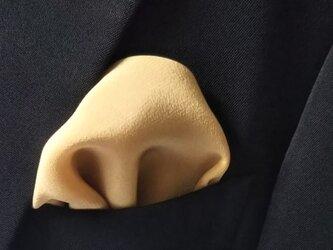 ブナ染 シルクポケットチーフの画像
