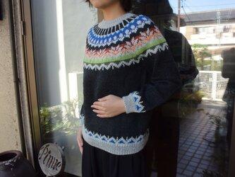 SALE多色使いのセーター2の画像