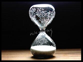 【受注制作】砂時計*M--小さな葉の画像