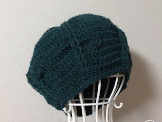 Sold out  ウールまぁるいニット帽の画像