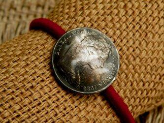 #H96  Australia Coin Hair Elasticの画像