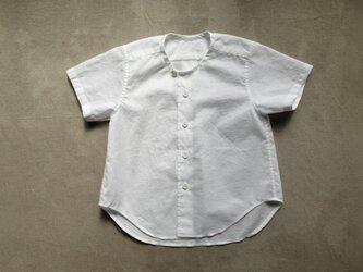 コットンシャツ半袖/2.3さいの画像
