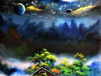 宇宙の廃屋の画像