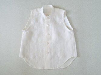 リネンノースリーブシャツ/2.3さいの画像