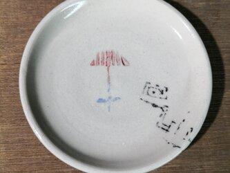 3寸皿(花)の画像