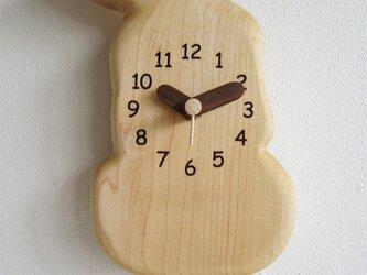 ラブラドール 振り子掛時計の画像