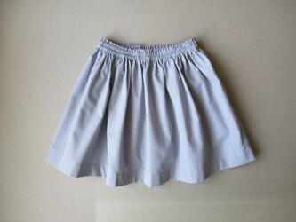 ギャザースカート 90cm/greyの画像