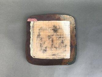 化粧掻き落とし文様 皿101の画像