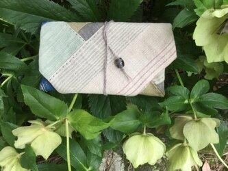 手織りヘンプ紐式財布大 p2-2の画像