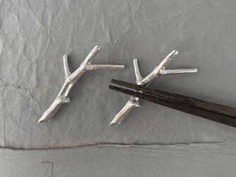 錫小枝箸置き1 (2個セット)の画像