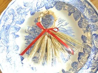麦わら細工のオーナメント (麦の穂未熟タイプ)の画像
