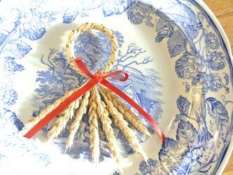 麦わらのオーナメント (小麦)の画像