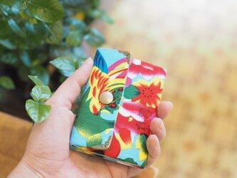★台湾花布★折り畳みカードケース【受注製作】の画像