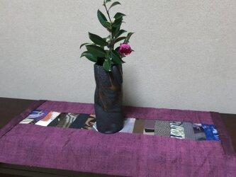 セール ヴィンテージ紬のテーブルマット 冬に暖かな紬の画像